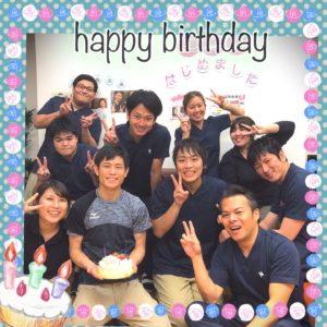柴田先生㊗happy birthday